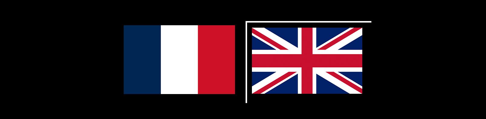 Flags Uk France