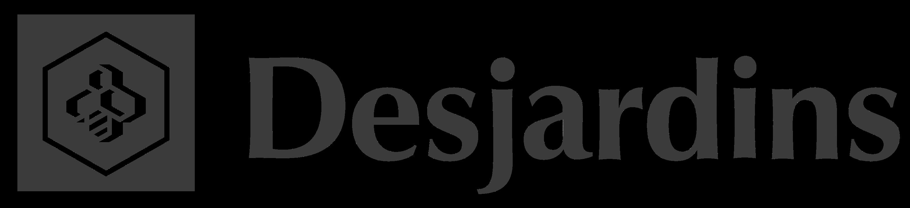 Logo -  Desjardins - Black